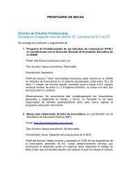 Becas - Facultad de Ciencias Políticas y Sociales - UNAM