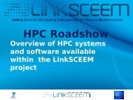 HPC Systems Overview - LinkSCEEM