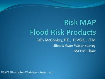 Risk MAP Flood Risk Products - Flood Risk Management Program