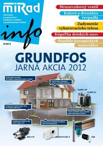 MIRAD Info, číslo 2/2012
