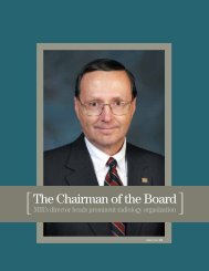 The Chairman of the Board - Mallinckrodt Institute of Radiology