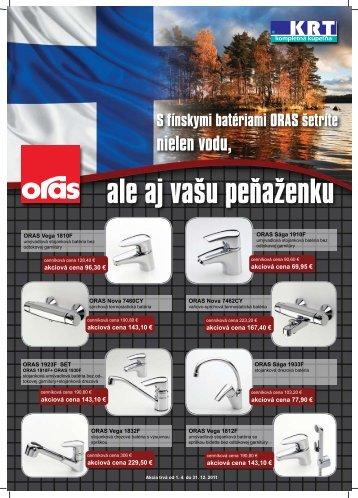 Batérie ORAS – predĺžená akcia - Mirad