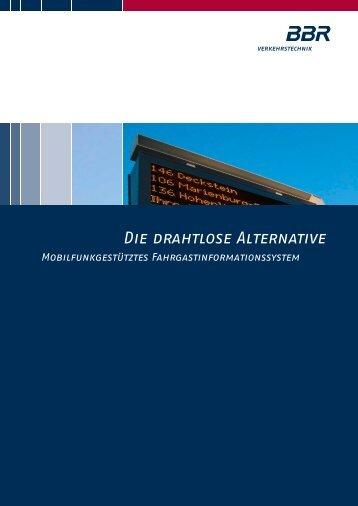 Produktinfo GPRS (pdf) - BBR Baudis Bergmann Rösch ...
