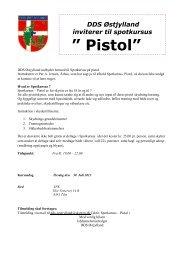 spotkursus pistol juli 2013 - DDS Østjylland