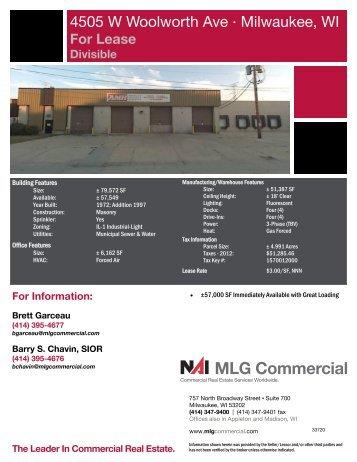 get information sheet - NAI MLG Commercial