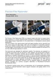 PFR Installation - PMOD/WRC