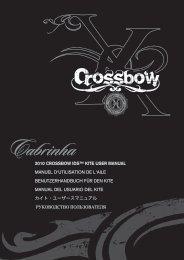 2010 CROSSBOW IDS™ KITE USER MANUAL ... - Cabrinha