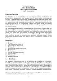 Biofeldtest - Grundlagen und Methodik - Aliquot.eu
