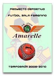 proyecto deportivo futbol sala femenino temporada ... - Tu patrocinio