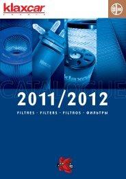 Catalogue Filtres - Klaxcar
