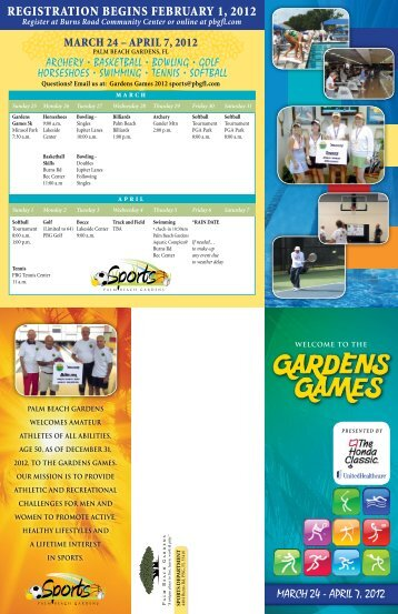 MarCH 24 – april 7, 2012 - City of Palm Beach Gardens