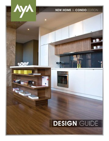 Design Guide | New Condo & Home Edition - AyA Kitchens
