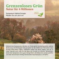 Grenzenloses Grün Natur für 4 Millionen
