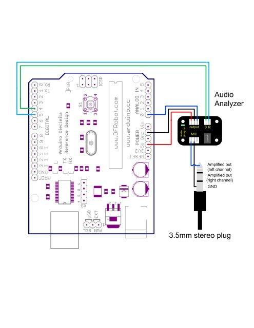 Wiring Diagram - DF Robot on volume control wiring diagram, 3.5mm to xlr microphone wiring diagram, xlr male wiring diagram, rca jack wiring diagram, 3.5mm audio jack wiring diagram,