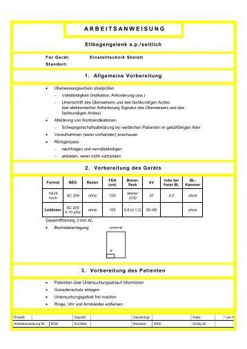 qm dokumentation arbeitsanweisung vergabe von dateinamen ...