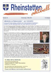 """14. März 2013, 20:00 Uhr """"Muttertier an Rabenmutter"""" - Stadt ..."""