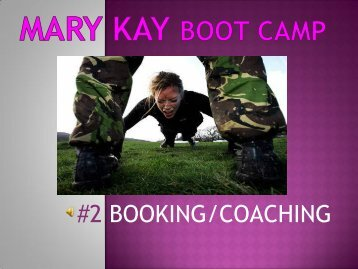 #2 BOOKING/COACHING
