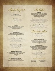 Appetizers Salads Favourites