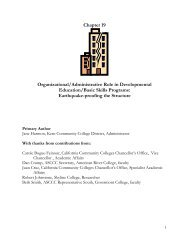 Chapter 19 - Basic Skills Initiative