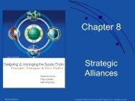 Chapter 8. Strategic Alliances