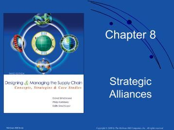 Chapter 8. Strategic Alliances