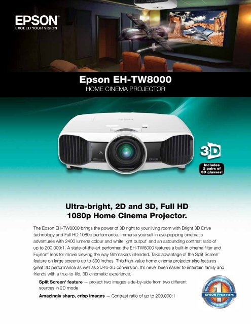 Projector Ceiling Mount for Epson Home Cinema 3020