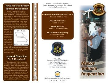Fy 13 14 Motor Vehicle Inspection Checklist