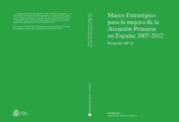 Marco Estratégico para la mejora de la Atención Primaria en España
