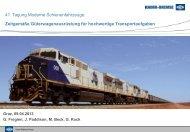 Der Knorr-Bremse Konzern - Schienenfahrzeugtagung Graz