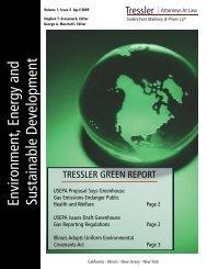 April 2009.indd - Tressler LLP