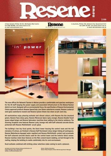 'in' Power - Resene