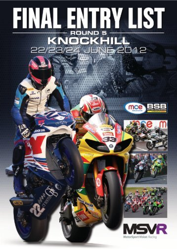knockhill - MotorSport Vision Racing