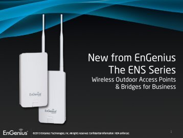 New from EnGenius The ENS Series