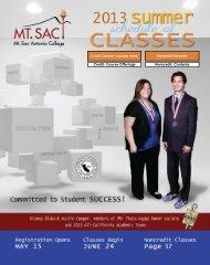 Download Schedule of Classes - Mt. San Antonio College
