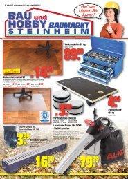 Auf uns können Sie bauen ! - Bau und Hobby Baumarkt Steinheim