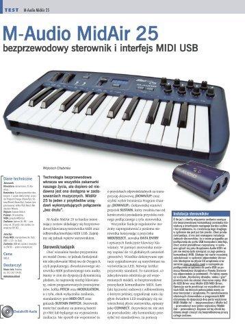 M-Audio MidAir 25 - Music Info