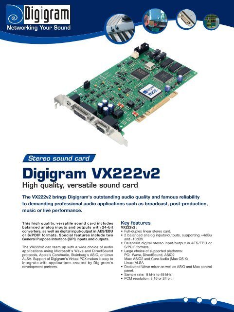 DIGIGRAM WAVE DRIVERS FOR WINDOWS DOWNLOAD