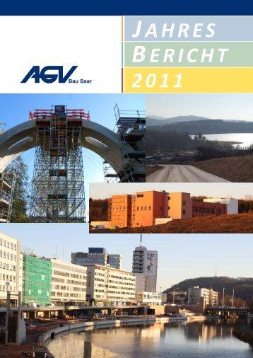 JAHRES BERICHT 2011 - AGV Bau Saar