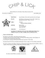DECEMBER BIRTHSTONE - Miami Valley Mineral and Gem Club