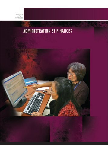 ADMINISTRATION ET FINANCES