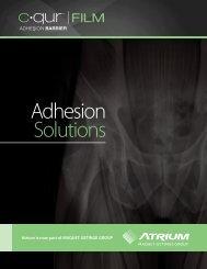 Product Brochure - Atrium Medical Corporation