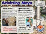 Nieuwsbrief februari 2012 - Stichting Maya