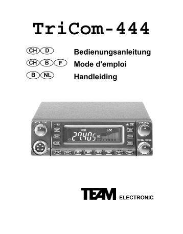 TEAM TriCom-444
