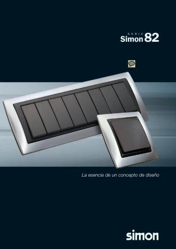 Simon 82, catálogo mecanismos, interruptores, llaves ... - Venespa