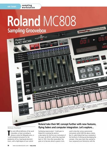 SOS review the MC-808.pdf - Roland UK