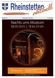 Programm siehe Seite 2 und 3 in dieser Ausgabe - Stadt Rheinstetten