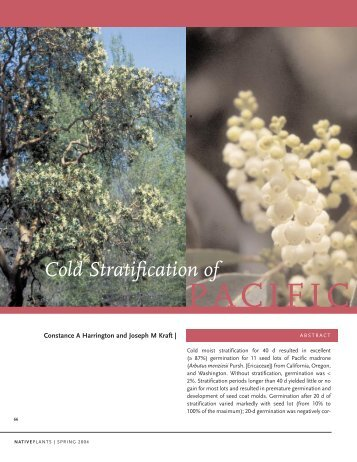 Download entire article in PDF format - Native Plant Network
