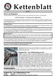 2011-03-00 Kettenblatt - Naturfreunde Radgruppe Stuttgart