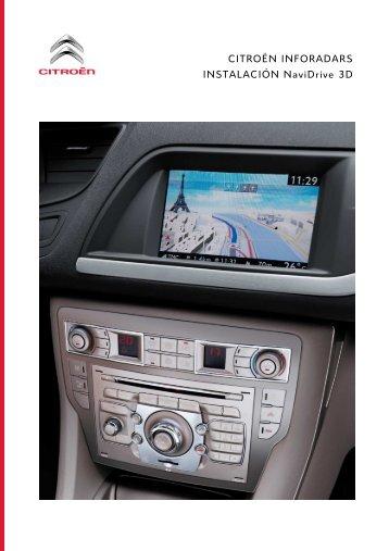 Guía de instalación para el sistema Citroen ... - Navigation.com