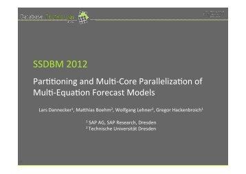 Talk - Technische Universität Dresden